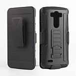 2 in 1 design case Hard Plastic Skin+Soft Outer Silicone Case for LG G3