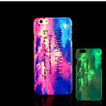 Infinity Pattern Glow in the Dark Hard Plastic Back Cover for iPhone 5 for iPhone 5s Case