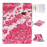 Lovely Princess Rose and TPU Textile Cloth Card Slot Stents The Cladding For Apple iPad Air