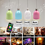 Besteye®BLF5 3W E27 100-240V Smart LED Bulb Multi-color LED Light with Bluetooth Speaker Free Smartphone APP
