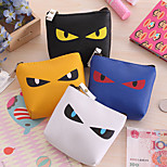 Sharp Eyes Pattern PU Leather Change Bag(1 PCS Random Pattern)