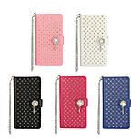 Inlay Rhinestone Design PU Texture Smart Cover Case for SONY Xperia Z5 mini (Assorted Color)