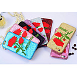 The New Creative Luxury Affixed to the Skin of Roses Embroidery Cases for iPhone6/iPhone 6s(Assorted Colors)