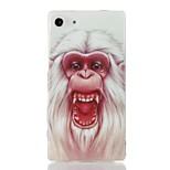 New Fashion 3D Cartoon gorilla Case TPU Back Cover for Sony Xperia Z3 Mini