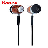 Kanen ip-309 20 Hz-20 kHz auricolare in-ear con microfono per iphone samsung