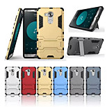PC+Soft TPU Shock Resistant Hybrid Armor Heavy Duty Kickstand Anti-knock Case For Huawei Mate 8 (Assorted Colors)
