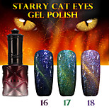 1PCS ANA Starry Cat Eyes Color Gel 12ml 24Colors Long Lasting Nail Polish 16-18