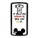 If You Can Dream it Design Metal Hard Case for LG L90/ G3/ G4