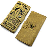 Inspired by One Piece the Straw Hat Pirates Cho Monkey D. Luffy Leather Wallet Cosplay Accessory
