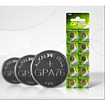 GP A76 LR44 L1154 AG13 1.5V  Household Batteries 10pcs