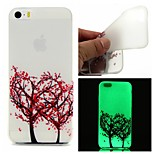 Love Tree Luminous Dream Catcher Pattern Sofe TPU Case for iPhone 5/5S