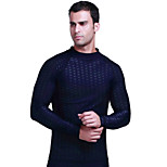 UPF50+ Sun Protection Long Sleeve Swimwear Men Rash Guards Surf Snorkelling Scuba Shirts SBART-702