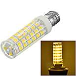 Marsing® E14 8W 600lm 3500/6500K 75-SMD 2835 LED Cool /Warm White Light Bulb Lamp (AC 220-240V)
