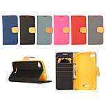 Yi Cai Card Holder Leather Belt Around Open for HTC D320(Assorted Colors)
