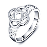 Fashion Party Knot Accessories 925-Sterling-Silver Rings For Women&Lady