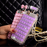 Luxury Diamond Perfume Case Handbag Bow Bowknot Chain Perfume Bottle Case Cover For iPhone 5/5S (Assorted Colors)