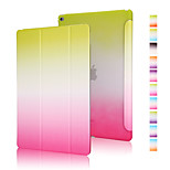 buona qualità cuoio dell'unità di elaborazione gradiente arcobaleno custodia per ipad mini 3/2/1