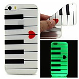 The Piano Luminous Dream Catcher Pattern Sofe TPU Case for iPhone 5/5S