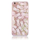 abacaxi pequeno padrão pc caso de telefone amor areia movediça estereoscópico material para iphone 6 / 6s