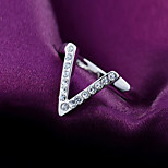 Z&X® Classic Temperament  Alloy / Rhinestone  Ring Statement Rings Daily / Casual 1pc
