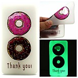 Double Color Doughnuts Luminous Dream Catcher Pattern Sofe TPU Case for Lumia 540
