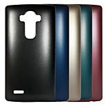 Top Grade Plating Metal Surface Design PC Stiff Case for LG G4