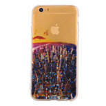 The New City Lights Landscape Pattern Translucent TPU Material Combo Phone Case for iPhone 6/ 6S