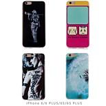 moda e personalidade projeto TPU soft case para iphone 6 plus / 6s mais (cores sortidas)
