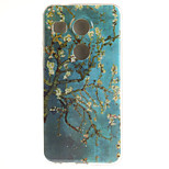 Apricot Flower Pattern TPU Material Phone Case for LG Nexus 5X