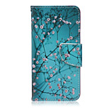 Tree Pattern PU Leather Material Flip Card Phone Case for LG Nexus 5x