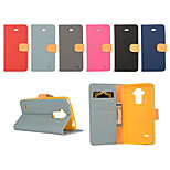Yi Cai Gyrosigma PU Leather Card Holder Leather Belt Around Open for LG G4 Stylus(Assorted Colors)