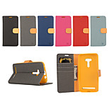 Yi Cai Card Holder Leather Belt Around Open for Asus ZD551KL(Assorted Colors)
