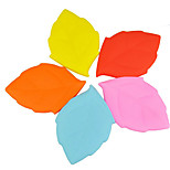 KUSHUN™ 100ML Portable Washing Cup Travel Creative Silicone Brush Cup Maple Leaf Shape  Cup(Rondom Color)