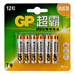 GP 1.5V AAA Household Batteries 12pcs