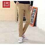 CELUCASN Hombre Jogger Pantalones Kahki - F5QO106550229