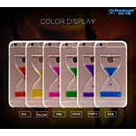 Sanlead Double-cup-drip PC With Rubber And Sand Liquid Back Case For iphone6,6S(Assorted Colors)