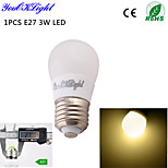 Ampoules Globe Décorative Blanc Chaud YouOKLight 1 pièce B E26/E27 3 / 5 W 6 SMD 5730 260 LM AC 100-240 / AC 110-130 V
