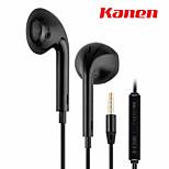 kanen tarjeta de auriculares de llamadas auricular ip-809 deportes portátil puede llamar auriculares deportivos auriculares