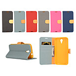 Yi Cai Card Holder Leather Belt Around Open for HTC D620(Assorted Colors)