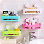 Strong Sucker Bathroom Shelves Storage Box Random Color
