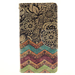 Wave Flower Design Cell Phone Case Cover For WIKO Sunset 2