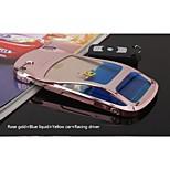 sanlead liquido blu + auto + corsa gialla pc pilota con liquido con flotage di caso per iphone6,6s (colori assortiti)