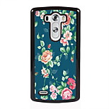 Rose Design Metal Hard Case for LG L90/ G3/ G4