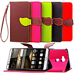 KARZEA™ Leaf Snap PU Full Body Case with TPU Back Cover Stand for Huawei 4C/Mate 7/G2mini/G6/P8lite(Assorted Colors)