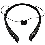 Neck-strap Outdoor Sport Wireless Stereo Bluetooth 4.0 + EDR Music Headphone Sweat-proof Earphone with Mic