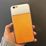 Beer Pattern Acrylic Back Cover Case for iPhone6/6S