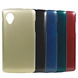 Top Grade Plating Metal Surface Design PC Stiff Case for LG Nexus 5 E980