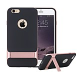 ROCK® [Royce Stand] Anti-scratch Protection Ultra Thin Fit Hard PC + Soft TPU Case for iPhone 6/6s 4.7