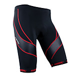 Bike/Cycling Shorts / Jersey Men's / Unisex Breathable / 3D Pad / Reflective Strips Terylene Stripe Gray / BlackS / M / L / XL / XXL /