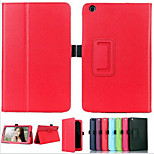 Luxury Lichee Folio Book PU Leather Stand Case Smart Capa Para Cover For Lenovo A8-50/A5500 Table (Assorted Colors)